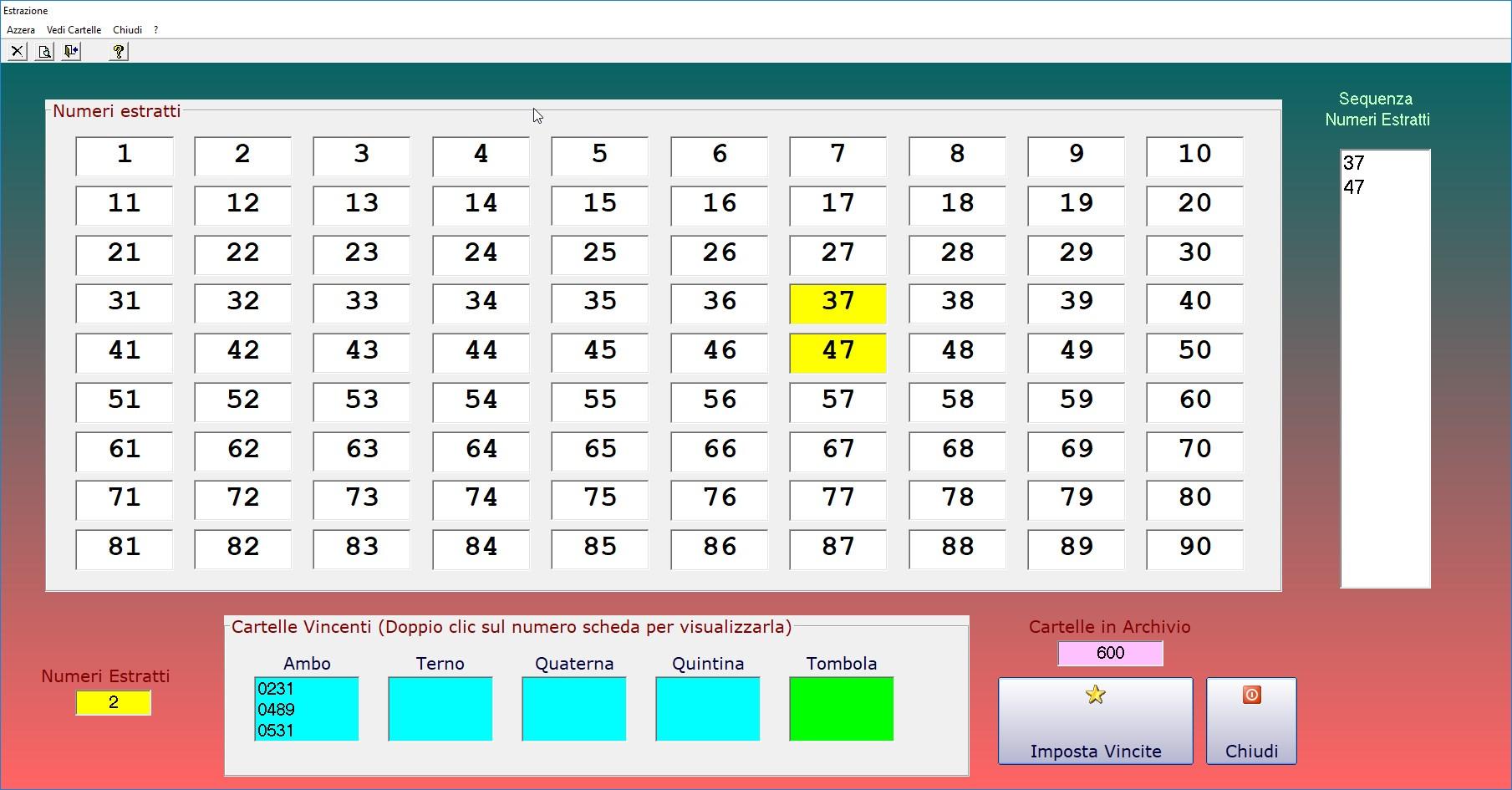 Senasoft Software Per I Giochi Della Tombola E Bingo In Italiano E